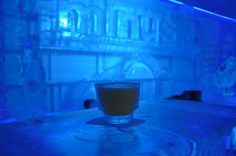 Pop on the Parka and serve yourself an ice cold drink at Minus 5 Ice Lounge at the Mandalay Place.
