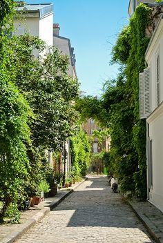Rue des Thermopyles, Pernety, Paris