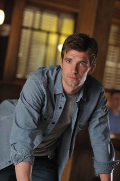 Lucas Bryant - Nathan on Haven (SyFy TV series).  The main reason I watch the show :P  It's a bonus that the series is really good.
