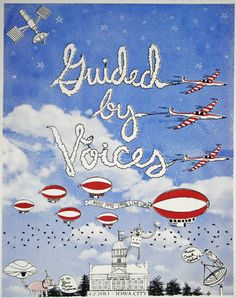 Guided By Voices concert poster by Andy Schmidt