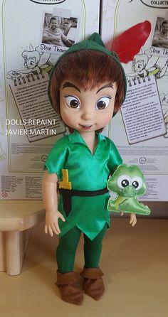 Peter Pan Disney Animator | Peter Pan Disney Animator ooak | Flickr