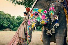 signe vilstrup vogue2 Signe Vilstrup Captures Wedding Style for Vogue India November 2013