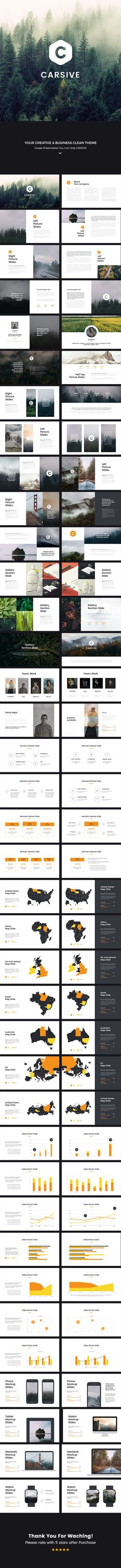 Carsive Clean Keynote Template — Keynote KEY #hd #shape • Download ➝ https://graphicriver.net/item/carsive-clean-keynote-template/19128521?ref=pxcr
