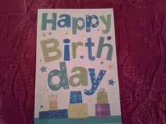 Birthday card from Priscilla