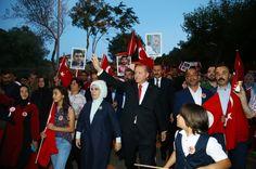 Cumhurbaşkanı Erdoğan, milyonlarla buluştu