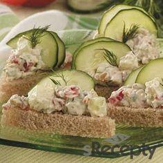 Sandwiches de pepino