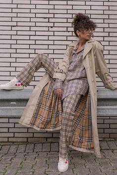 88e1cfc1c6a Burberry vintage check  a plaid shirt
