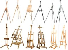 Types of Easel's