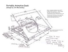 Animation Studio Stuff for Students: Do-It-Yourself- Animation Desk