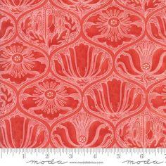 Moda Fabrics Poppy Mae Ogee Poppy  from £3.25 - www.modafabric.co.uk