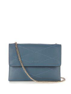 LANVIN Sugar Mini Leather Cross-Body Bag. #lanvin #bags #shoulder bags #leather #lining #