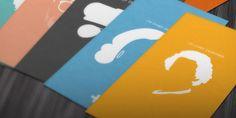 minimalist profil 30 Super Creative Business Cards