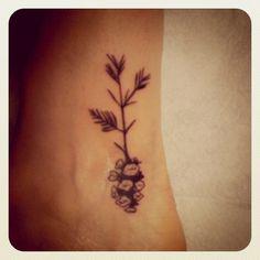 Pine Cone Tattoo