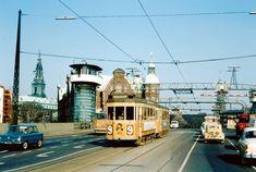 KS - Linje 9 - Knippelsbro Capital Of Denmark, Copenhagen Denmark, Back In Time, Public Transport, Good Old, Trains, Nostalgia, Scenery, Street View