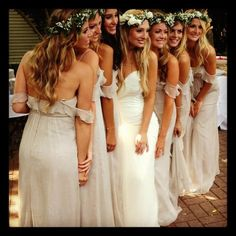 Beautiful flower crowns