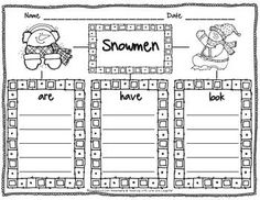Snowmen Tree Map