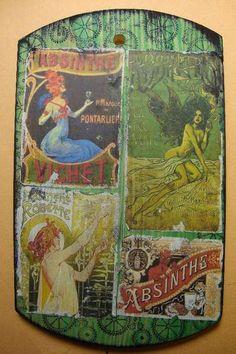 more absinthe - Art Nouveau