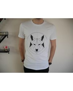 T-shirt Mountain wolf - Visual Paris - 100 % Coton  bio - Homme