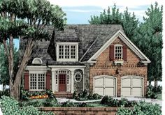 Brentwood - Home Plans and House Plans by Frank Betz Associates