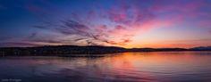 Tromsø city by night - null