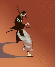 - Samurai Champloo -  Jin by wide-j.deviantart.com on @DeviantArt