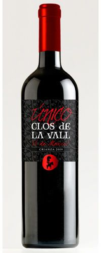 Clos de la Vall crianza 2009 - Vino Tinto DO Valencia
