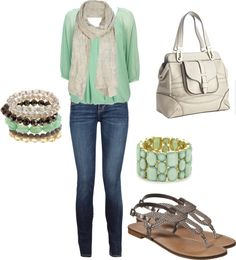 """Scarf Outfit"" by sara-schmidt on Polyvore"