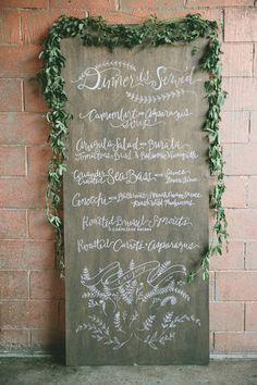 Leafy Green Garden Wedding Inspiration - Aisle Perfect