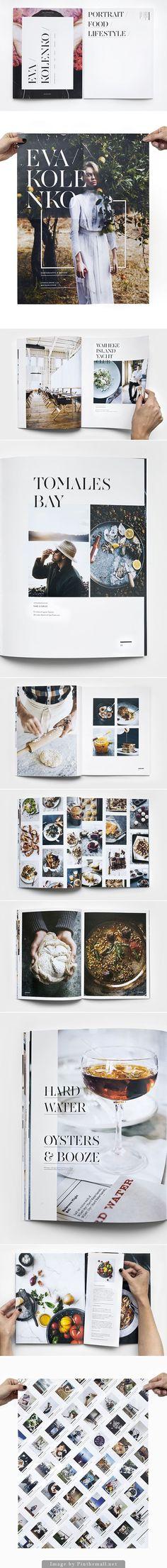 Magazine design and layout ideas Layout Design, Graphisches Design, The Design Files, Graphic Design Layouts, Print Layout, Graphic Design Typography, Book Design, Cover Design, Print Design