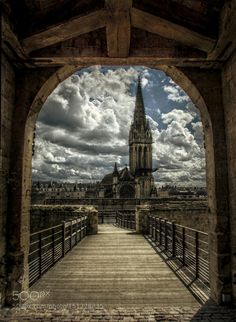 Cloudy Sky in Normandy by EnricoTuni #architecture #building #architexture #city #buildings #skyscraper #urban #design #minimal #cities #town #street #art #arts #architecturelovers #abstract #photooftheday #amazing #picoftheday