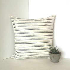 Excited to share the latest addition to my #etsy shop: Linen Pillow Coverup, Cream Color Stripe Cases, Homedecor, Custom Cushion, Decorative Pillow, Gift Cheap Pillow Cases, Zippered Pillow #pillow #housewares #linen #pillowcover #mothersday #pillowcases #housewarming https://etsy.me/2HgB2aN