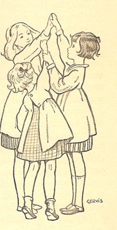 """Ruth Gervis did the illustrations for sister Noel Streatfeild's """"Ballet Shoes"""", among others..."""