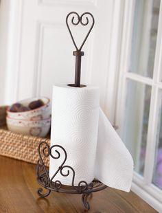 Standing Kitchen towel holder