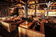 Harbour club Amsterdam fun place to wine and dine