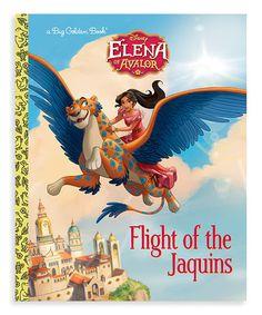 Disney's Elena of Avalor Flight of the Jaquins Hardcover #zulily #zulilyfinds