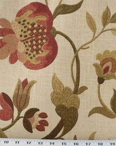 Gloria Foliage | Online Discount Drapery Fabrics and Upholstery Fabric Superstore!