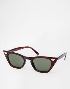 ASOS Pointy Cat Eye Sunglasses