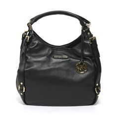its disgusting how much i love this purse *dream purse* Michael Kors 'Bedford' Black Leather Shoulder Tote Bag