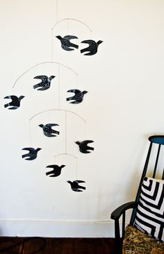 How To Make a Handmade Bird Mobile -  Apartment Therapy Tutorials