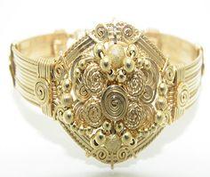 Handmade Wire Wrap Jewelry 14K Gold Filled by DesignsbyTerraJewelr, $799.00