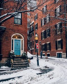 Boston Winter, In Boston, Places To Travel, Places To Visit, Travel Destinations, New York Christmas, Winter Christmas, Christmas Time, City Wallpaper