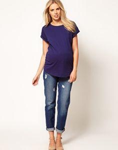 Image 4 ofASOS Maternity Boyfriend T-Shirt
