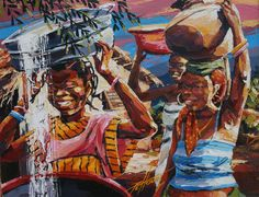 Pehouet Soro, Afro Art, African Art, Painting, Serum, Painting Art, Paintings, Painted Canvas, Drawings, Black Art