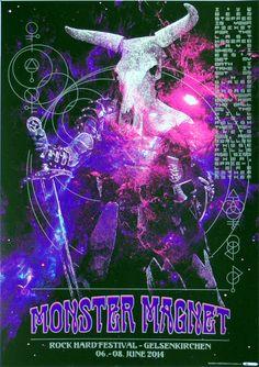 Monster Magnet - Oli Teutsch - 2016 ----