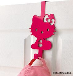 "Avon: Hello Kitty® Door Hook $9.99. 9 1/4"" H x 5 1/4"" W x 3"" D. Iron. Imported.   © 1976, 2011 Sanrio Co., Ltd. All Rights Reserved.."