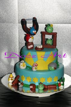 Angry Birds for a Pirate kid - Cake by Magda Martins - Doce Art