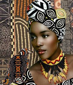 African Prints... - made by Donna Pfister with Bazaart #collage