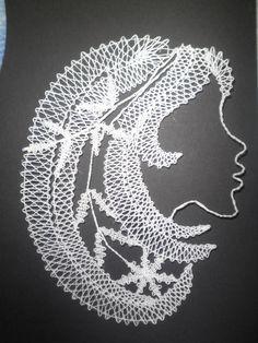 Bobbin Lace, Madonna, Baby Knitting, Dandelion, Cross Stitch, Images, Google, Crochet Leaves, Bobbin Lacemaking