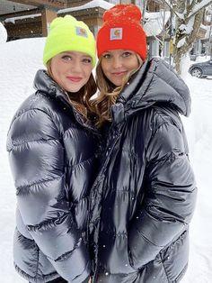 Down Parka, Down Coat, Puffy Jacket, Rain Wear, Overalls, Girls, Jackets For Women, Winter Jackets, Female