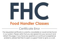 Food Handler Classes | North Carolina | $7.00 | My certificates | Online Training, Certification, Permit, License, Certificate, Card